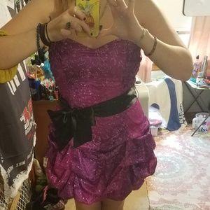 Pink/Purple Homecoming/Prom Dress